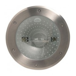 Ground Light Rx7s - Recessed Large 20' Tilt - Outdoor