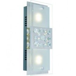 Crystal wall light LED - 11w +Driver incl- rectangle JY003