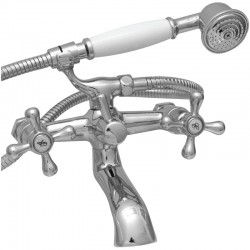 Colonial Bath Mixer with Hand Shower