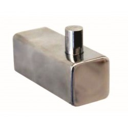 Robe Hook, Square Shelca Pearl SS PEARL015