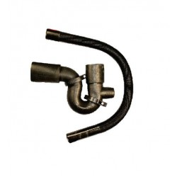 Bath Trap and Overflow Blk 40mm