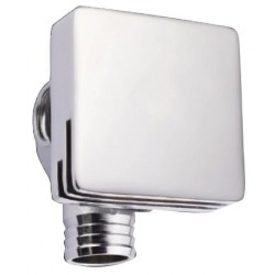 Square Nikki Spout and Overflow - Chrome