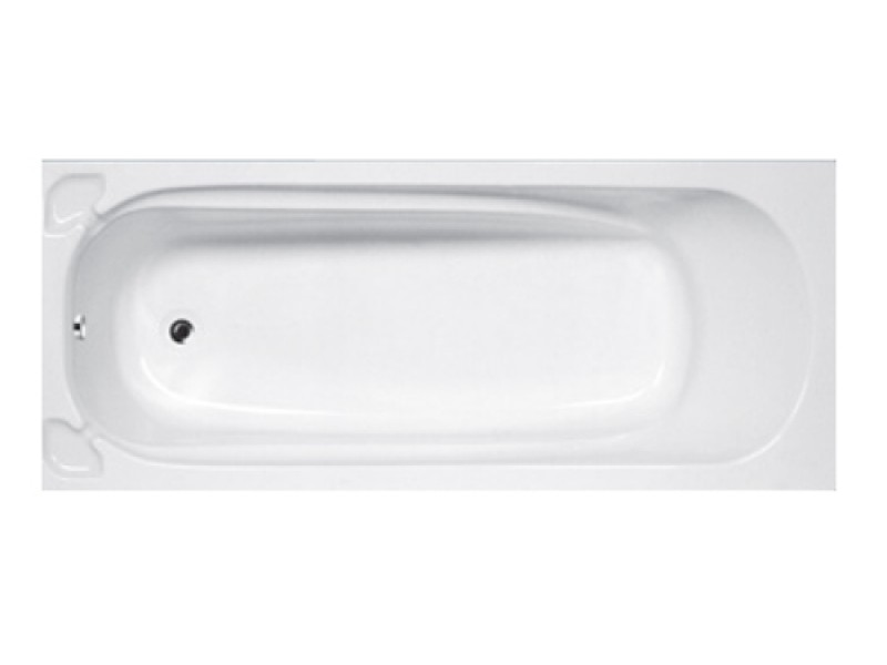 Roma Built-in Bath 1700x700 With Handles | THE HOME