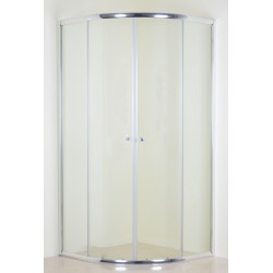 Chrome Quadrant Shower Enclosure