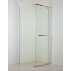 Semi Frameless Pivot Door & Return Panel