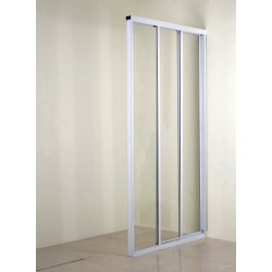 White Clear Trimatic Shower Door