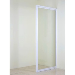 White Pivot Door 900