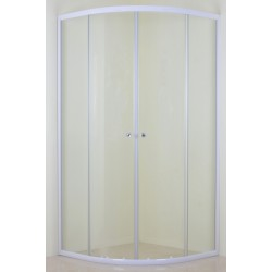 White Quadrant Shower Enclosure