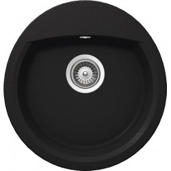 Frasa Latifa 45 StoneSilk Kitchen Sink - Onyx