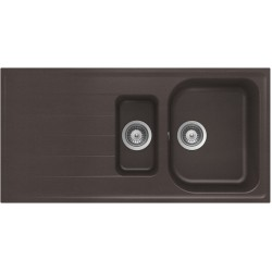 Frasa Grace 60 D StoneSilk Kitchen Sink - Mocha