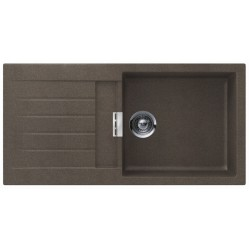 Frasa Latoya 60 UDXL StoneSilk SP Kitchen Sink - Bronze