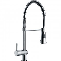 Braddan Sink Mixer High Rise Spring