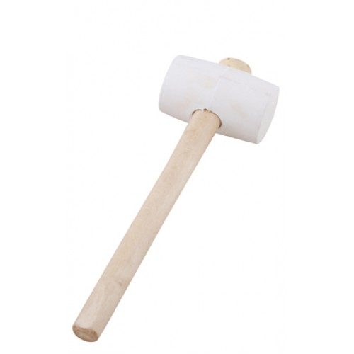 Rubber Mallet - White